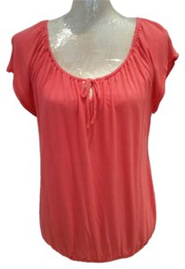Old Navy Cap Sleeve Lightweight Top coral