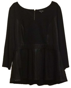 City Chic Top Blac
