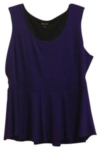 City Chic Top Purple