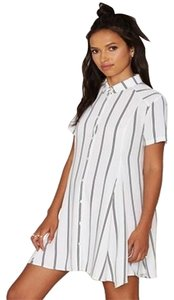 Other short dress WHITE/BLACK on Tradesy