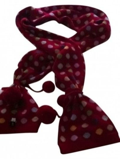 Preload https://img-static.tradesy.com/item/9137/gap-red-with-multicolored-polka-dots-lambs-wool-scarfwrap-0-0-540-540.jpg