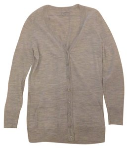 Halogen Wool Grey Heather Cardigan