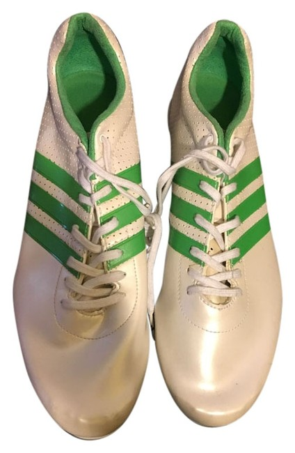 Item - White / Green Adizero Track & Field Women's Sneakers Size US 10 Regular (M, B)