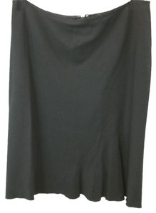 Tahari Stretchy Wool Skirt BLACK
