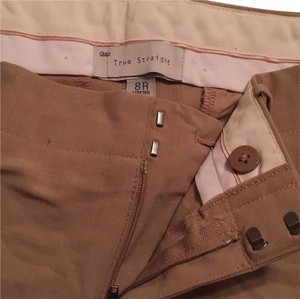 Gap Straight Pants Tan