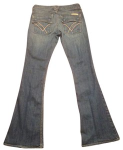 William Rast Bella Flare Leg Jeans-Medium Wash