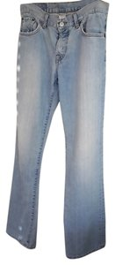 Lucky Brand Worn Look 30inch Size 4 Relaxed Fit Jeans-Light Wash