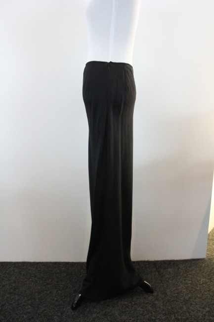 John Galliano Pencil Evening Maxi Skirt Black