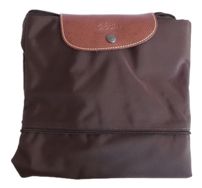 Item - Duffle Le Pliage Expandable Brown Nylon Weekend/Travel Bag