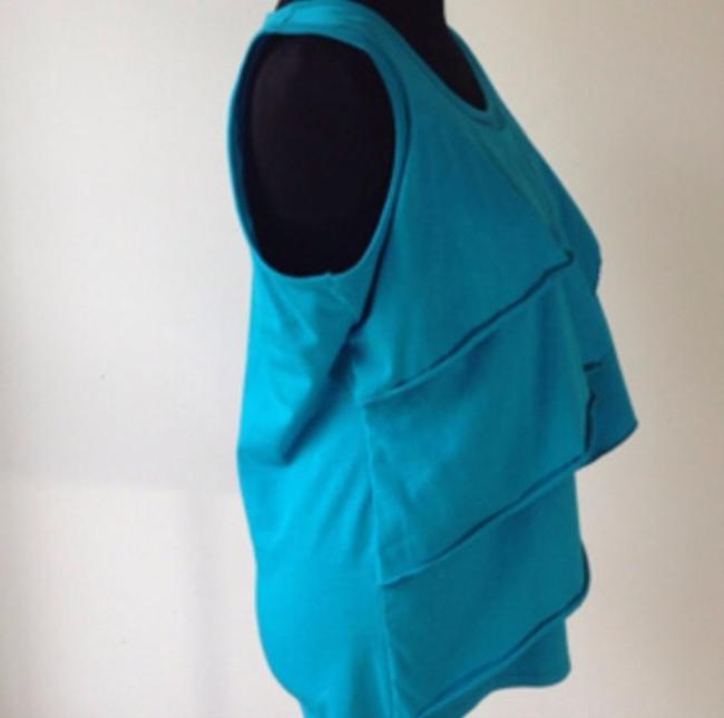 Boutique Top Turquoise