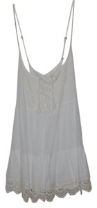 Abercrombie & Fitch short dress White Mini on Tradesy