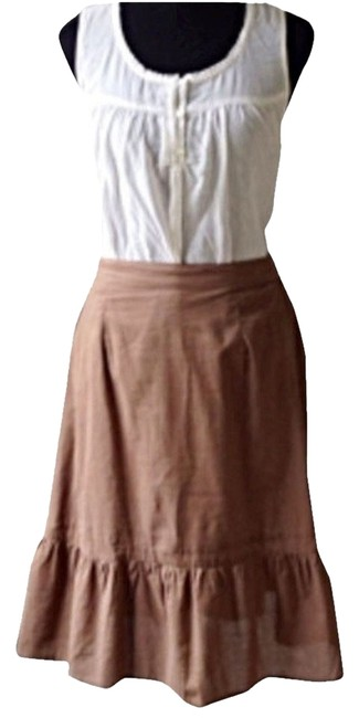 Boutique Skirt Brown