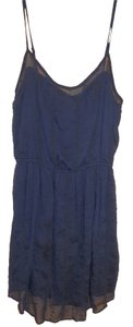 Abercrombie & Fitch short dress Blue Mini Abercombie Ribbon on Tradesy