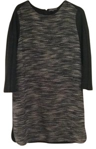 Vince short dress Black and Grey on Tradesy