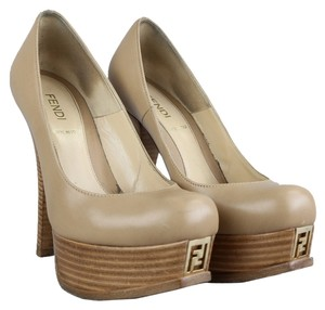 Fendi Sand Pumps