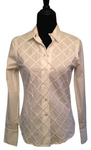 Stetson Western Pearl Snaps Button Down Shirt white