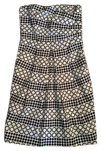 The Limited short dress black and white pattern on Tradesy