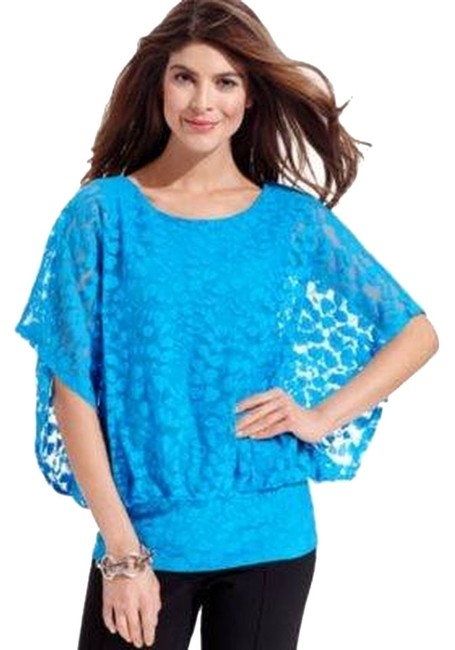 Style & Co Top Blue