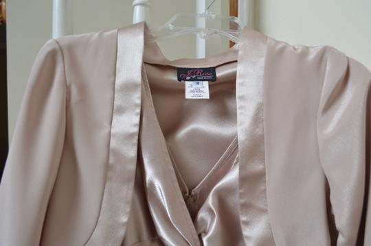 Champagne Mother Of The Bride Or Groom Modern Bridesmaid/Mob Dress Size 8 (M)
