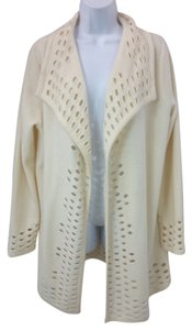 Chico's Creme Wool Cardigan