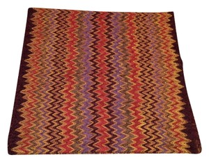 Missoni Missoni signature wool knit scarf