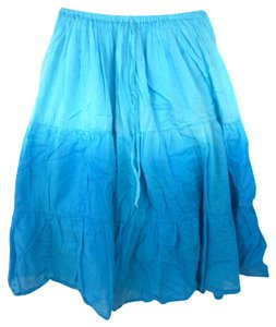 Natural Choice Skirt Turquoise ombr