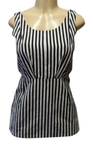 Marni Top Stripes black/white