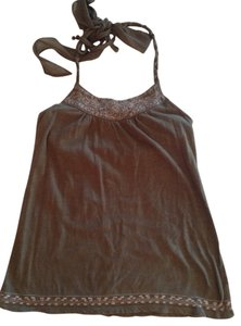 American Eagle Outfitters Brown Halter Top