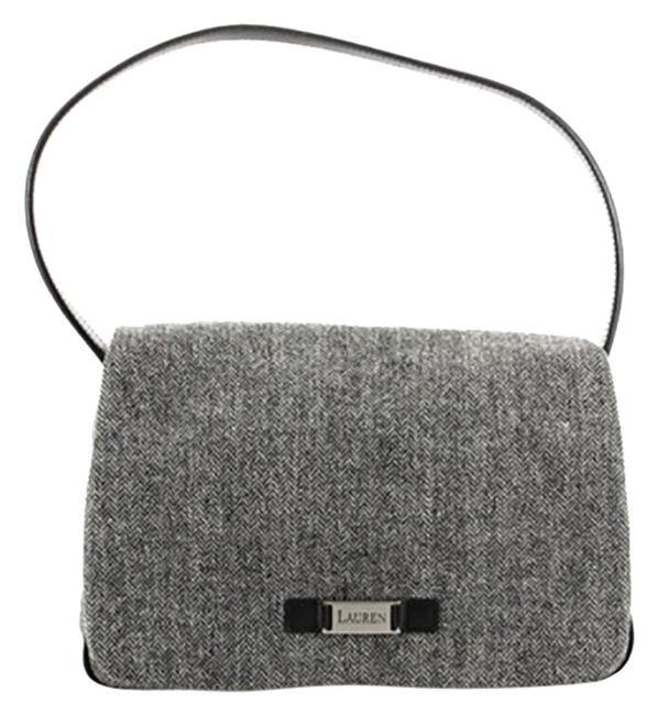 Item - Grey Cloth Shoulder Bag