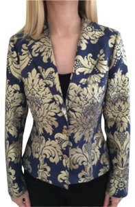 Moschino Blue & gold Blazer