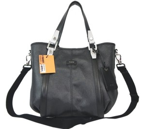 Tod's Tote in Black-Grey