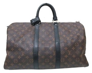 Louis Vuitton Keepall 45 Bandouliere Keepall 45 Keepall Keepall Monogram Keepall 45 Monogram Travel Monogram Brown Travel Bag
