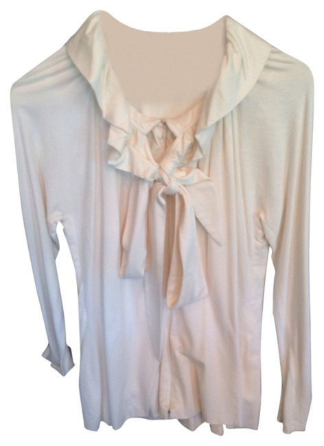 Preload https://item3.tradesy.com/images/charles-chang-lima-cream-blouse-size-10-m-914322-0-0.jpg?width=400&height=650