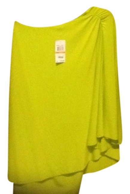 Preload https://img-static.tradesy.com/item/9143422/michael-kors-neon-green-mk-off-one-shoulder-a-for-a-very-s-short-night-out-dress-size-6-s-0-1-650-650.jpg
