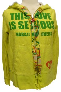 Harajuku Lovers Terry Cloth Hoody Logo Jacket