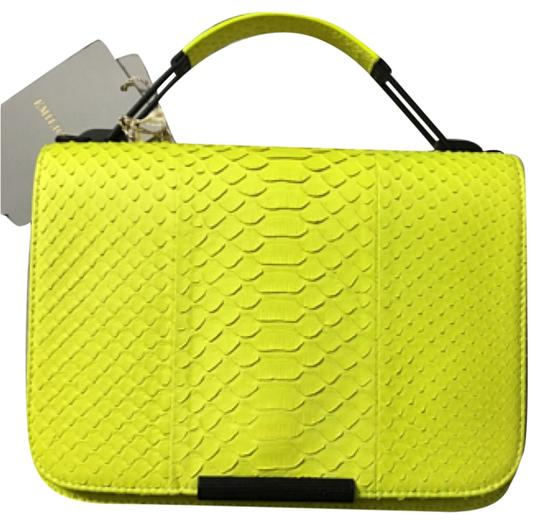 Preload https://img-static.tradesy.com/item/9144334/emilio-pucci-pitone-neon-python-shoulder-bag-0-1-540-540.jpg