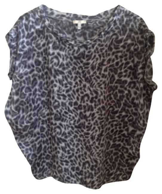Joie Top Silk animal print