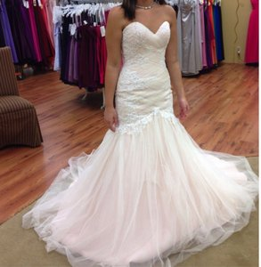 Maggie Sottero Blush Haven Wedding Dress Size 4 (S)