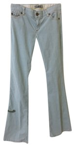 Bishop of Seventh Boot Cut Pants Light Blue