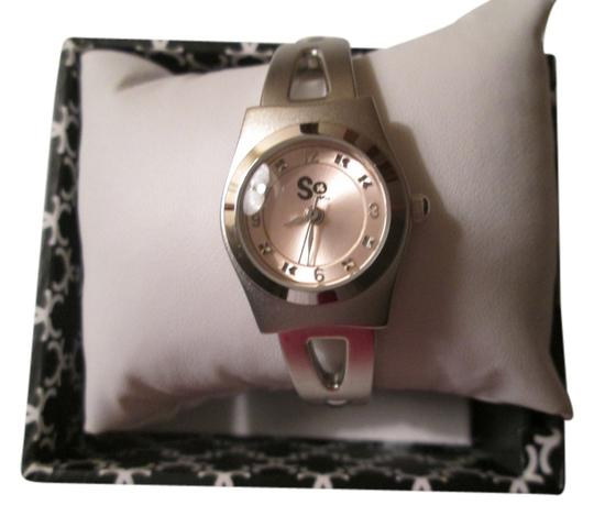 Preload https://img-static.tradesy.com/item/9145096/so-silver-pink-face-color-nwot-watch-0-1-540-540.jpg