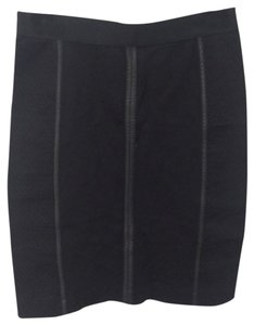 BCBGMAXAZRIA Bodycon Skirt Black