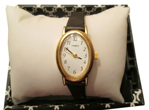 Timex Black Timex watch, white face, NWOT
