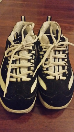 Skechers Tone Up Toning Sneakers Black and white Athletic
