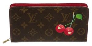 Louis Vuitton Louis Vuitton Brown Monogram Cherry Cerises Zippy Wallet