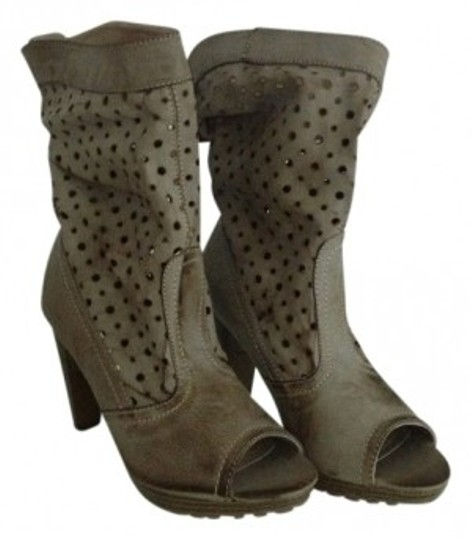 Gomax distressed light brown Boots