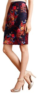 Anthropologie Skirt Red