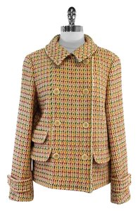 Max Mara Multi Color Tweed Jacket