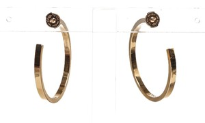 Cartier Cartier 18k Rose Gold and Diamond Monica Hoop Earrings