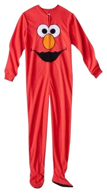 Sesame Street Elmo Fleece Pajama Sleepwear Warm Pants