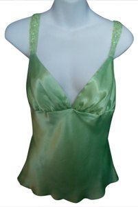 ZLO Sequined Trim Size Large Top MINT GREEN